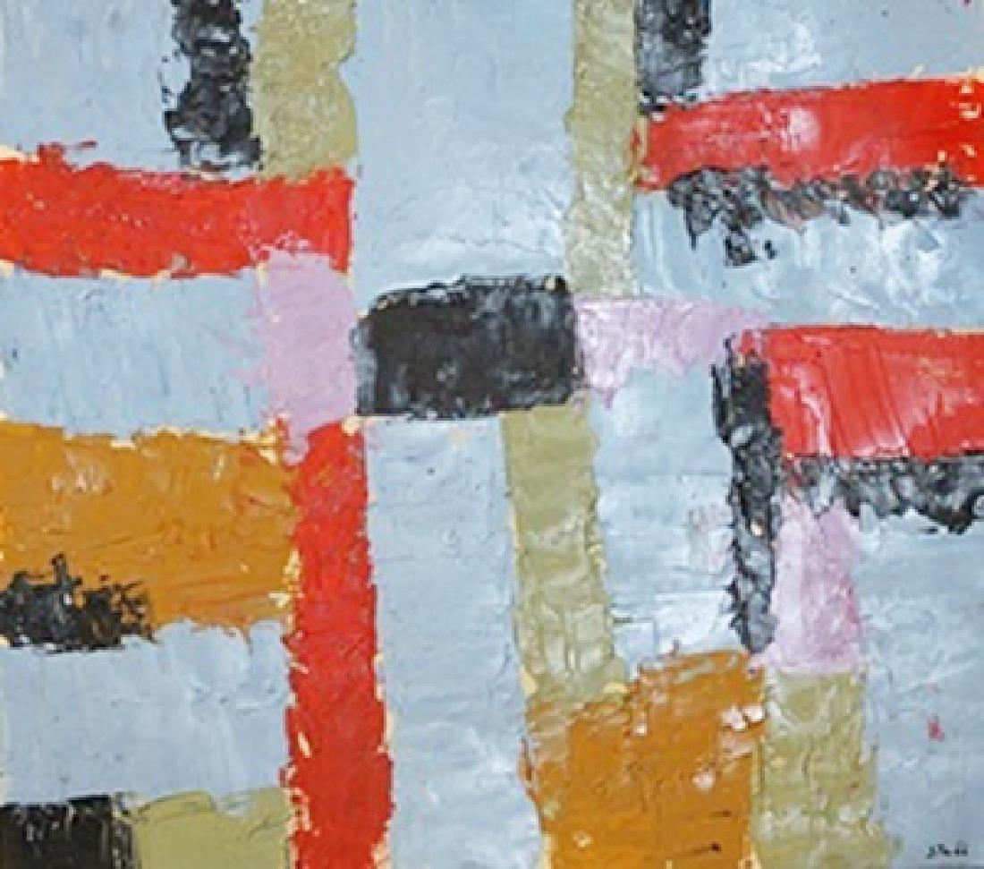 The Wall - Nicolas De Stael - Oil On Paper