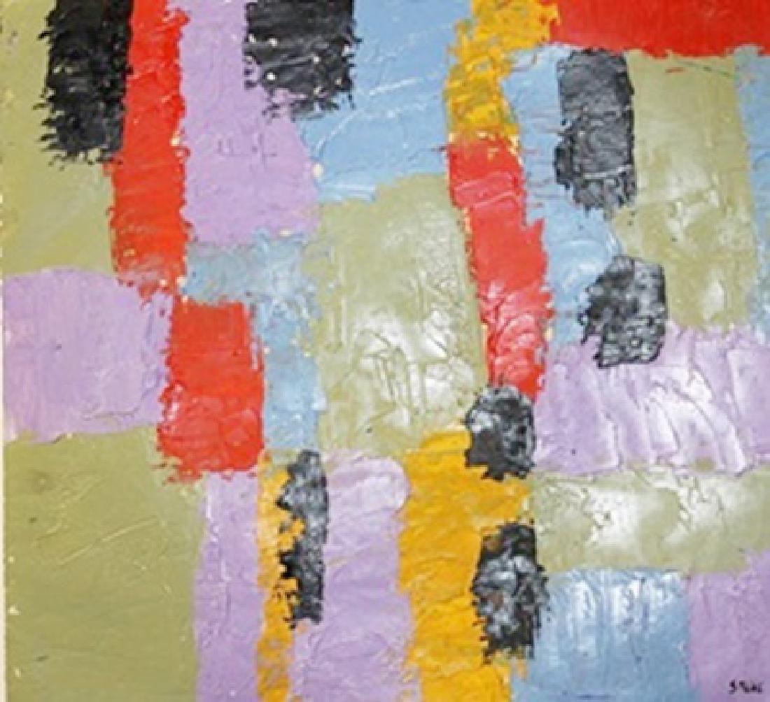 Rivers of Colours - Nicolas De Stael - Oil On Paper