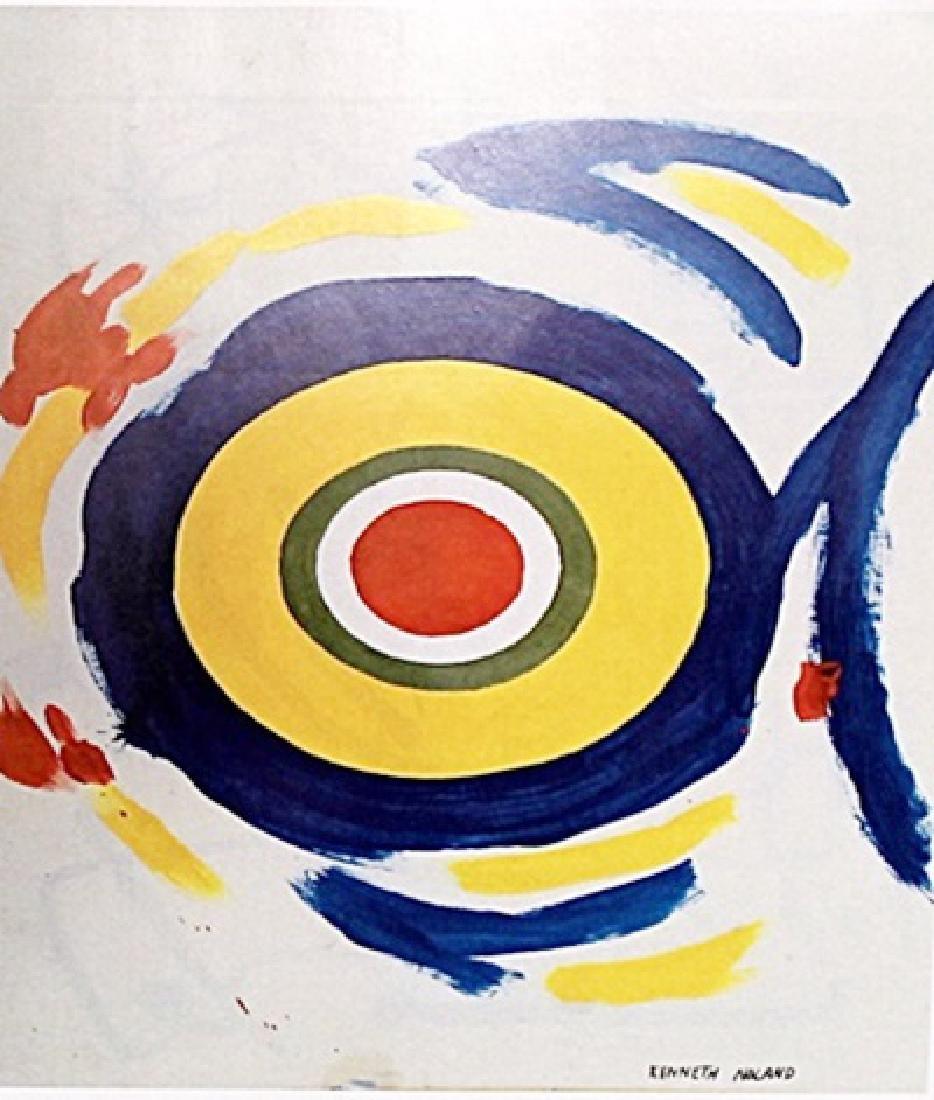 Head - Kenneth Noland - Oil paper