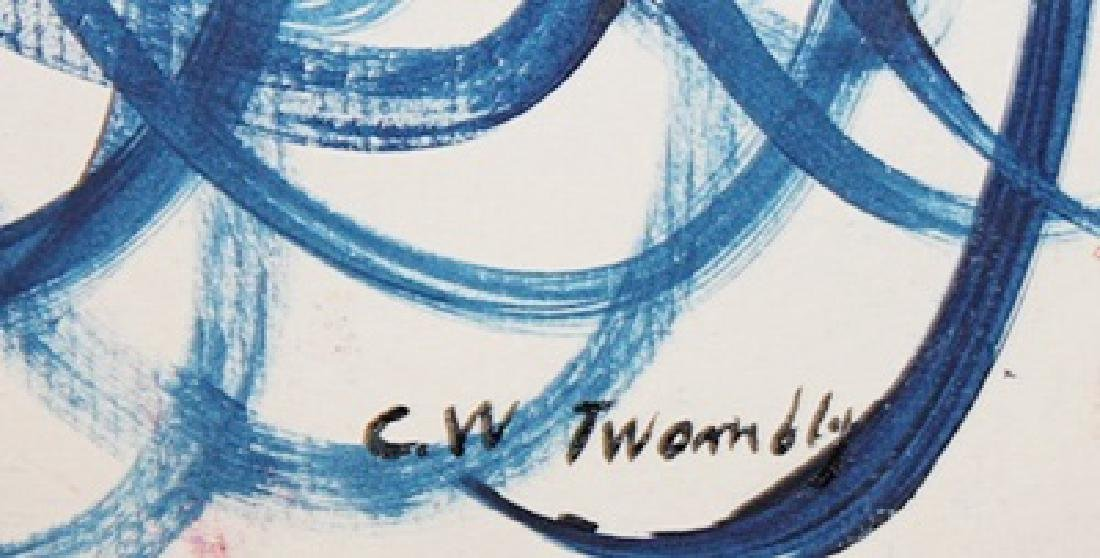 C Y Twombly - Oil On Paper - 3