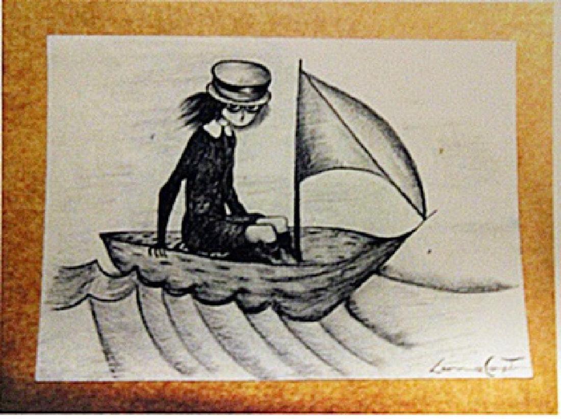 Leonora Carrington - Boy in the Sea