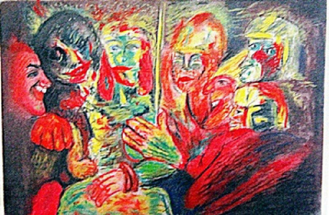 Emil Nolde - The Party