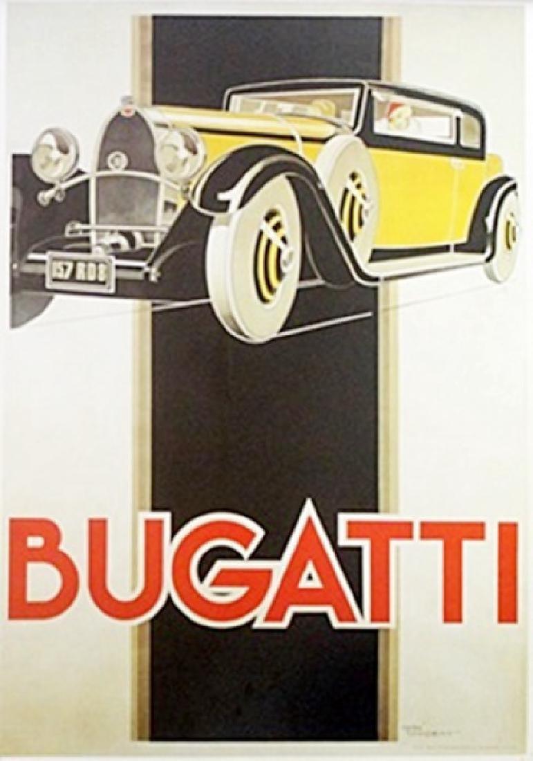 Poster - Bugatti - Rene Vincent