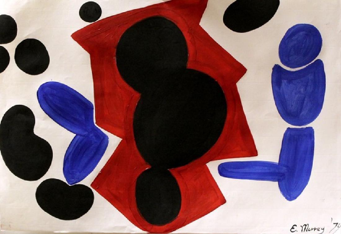 Elizabeth Murray - Oil On Paper