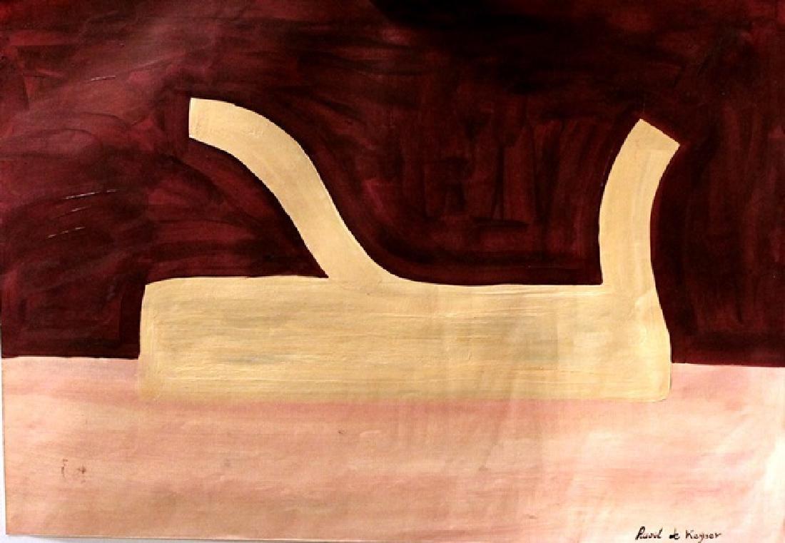 Venus - Raoul De Keyser - Oil On Paper