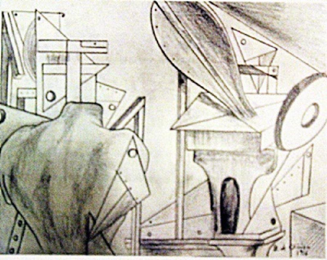 Giorgio De Chirico - Great Metaphysical Interior