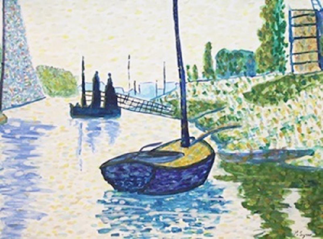 Venice - Paul Signac - Watercolor On Paper