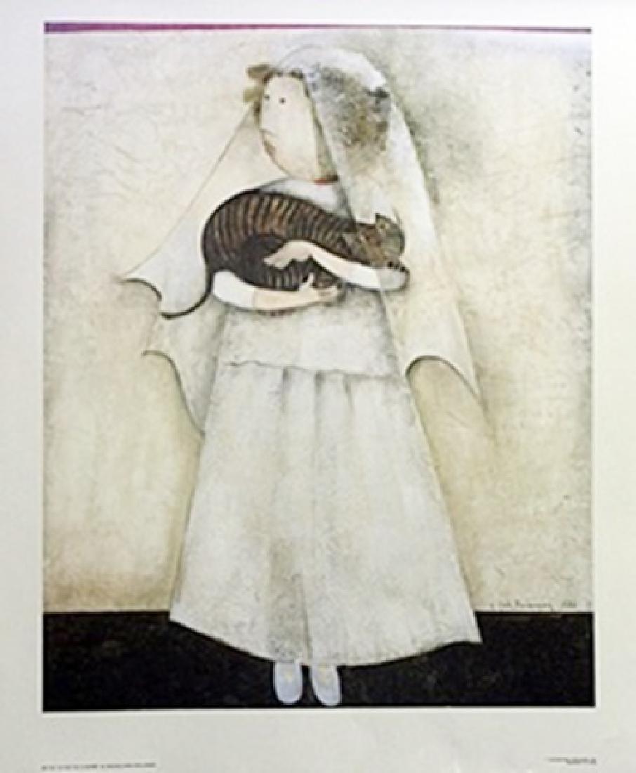 Lithograph - Le Chat De La Marie - G. Rodo Boulanger