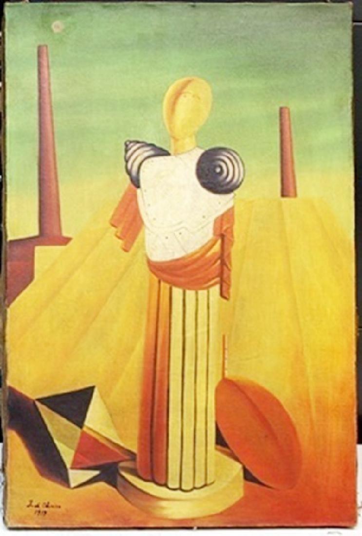 Oil Painting on Canvas -  Giorgio de Chirico