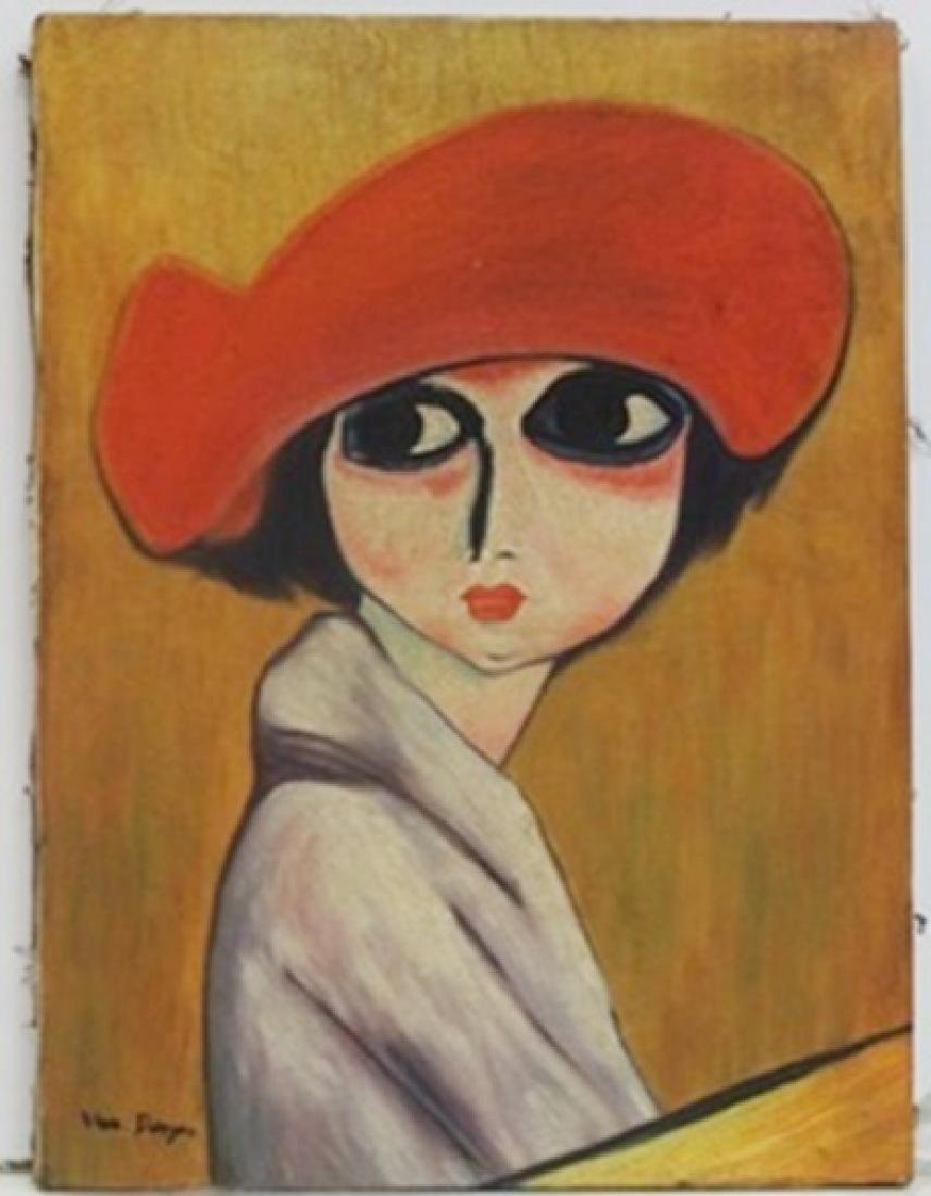 """Le Coquelicot"" (The Corn Poppy)  Kees Van Dongen"