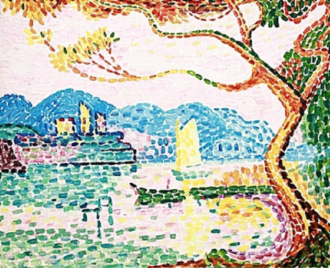 Port Saint Louis - Jean Metzinger - Watercolor
