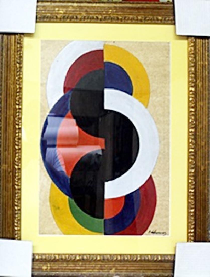 Oil Painting - Robert Delaunay