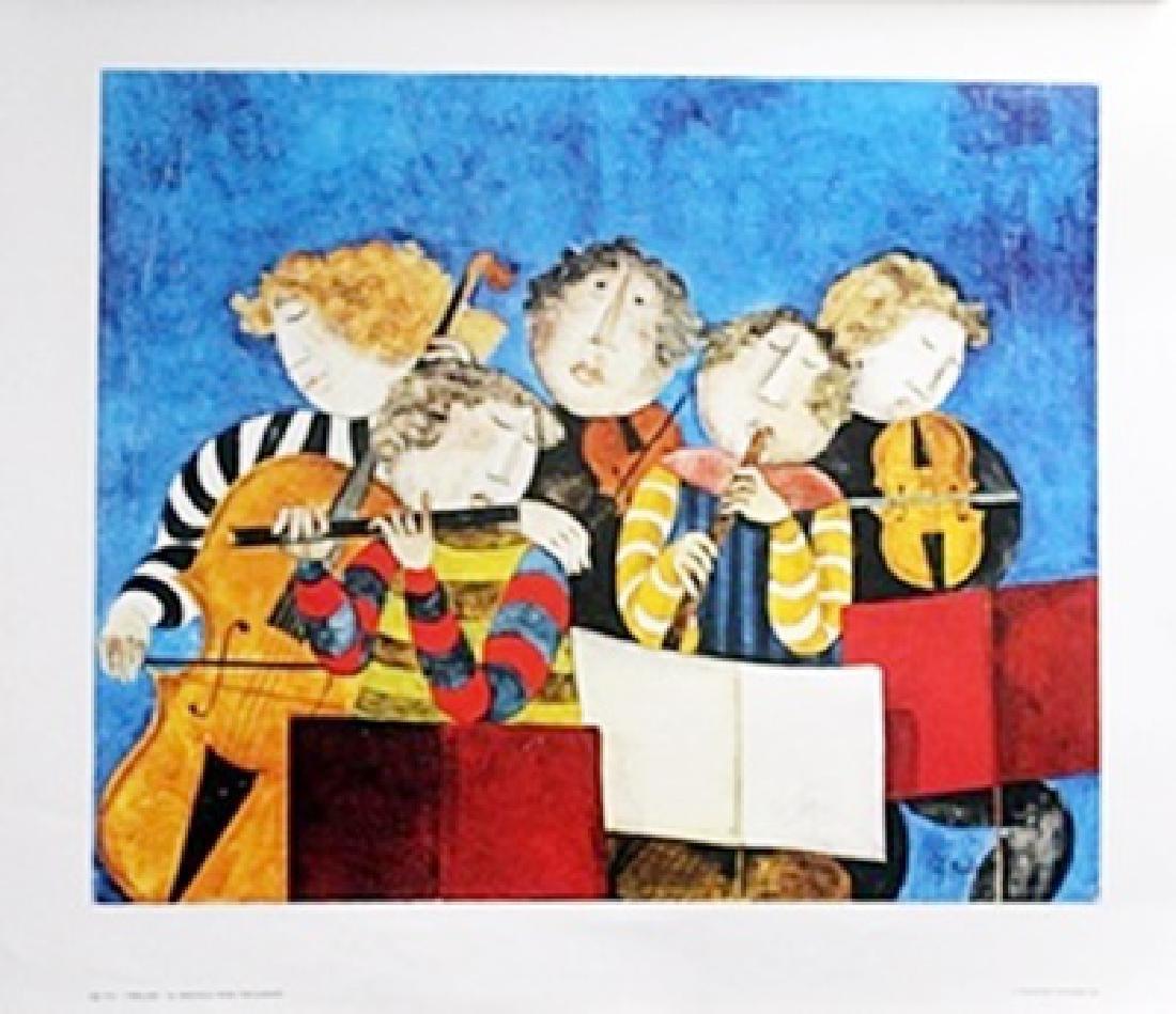 Lithograph - Prelude - G. Rodo Boulanger