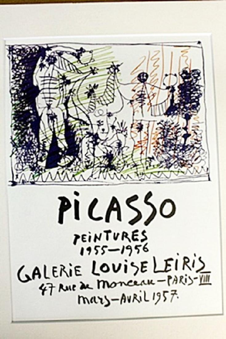 Lithograph by Pablo Picasso