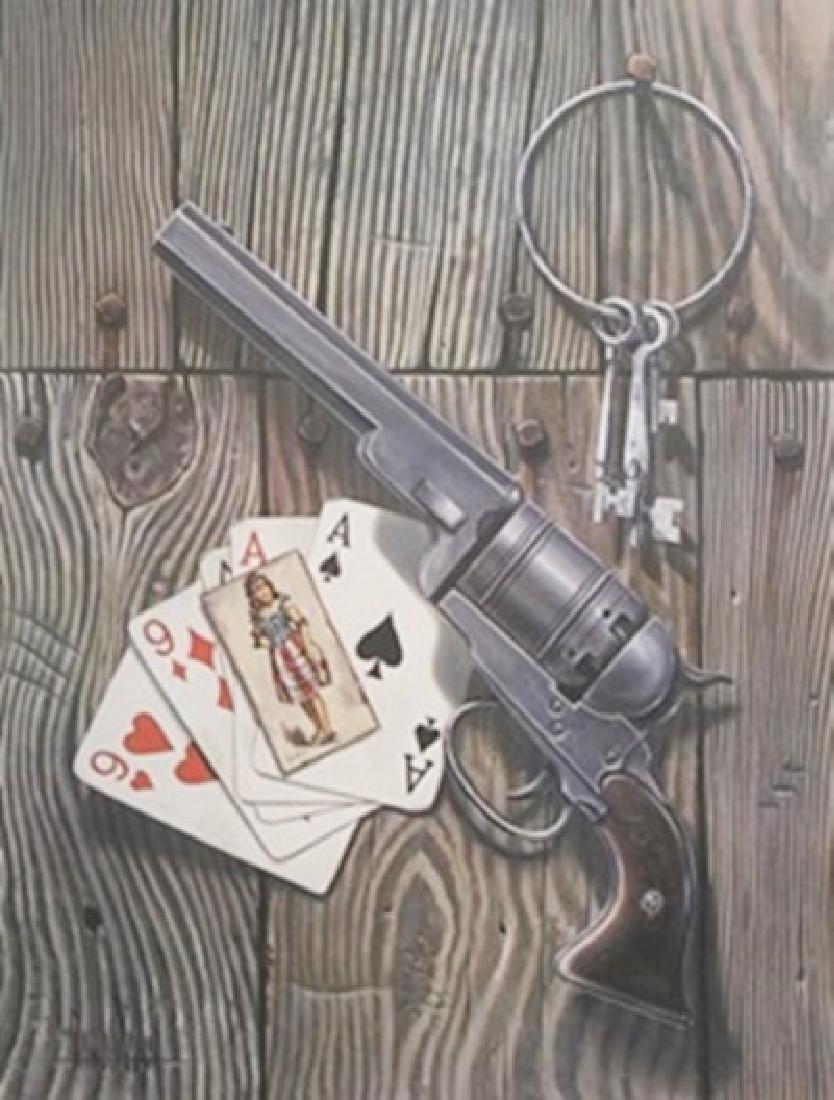 Lithograph - Dead Man's Hand - David Mann