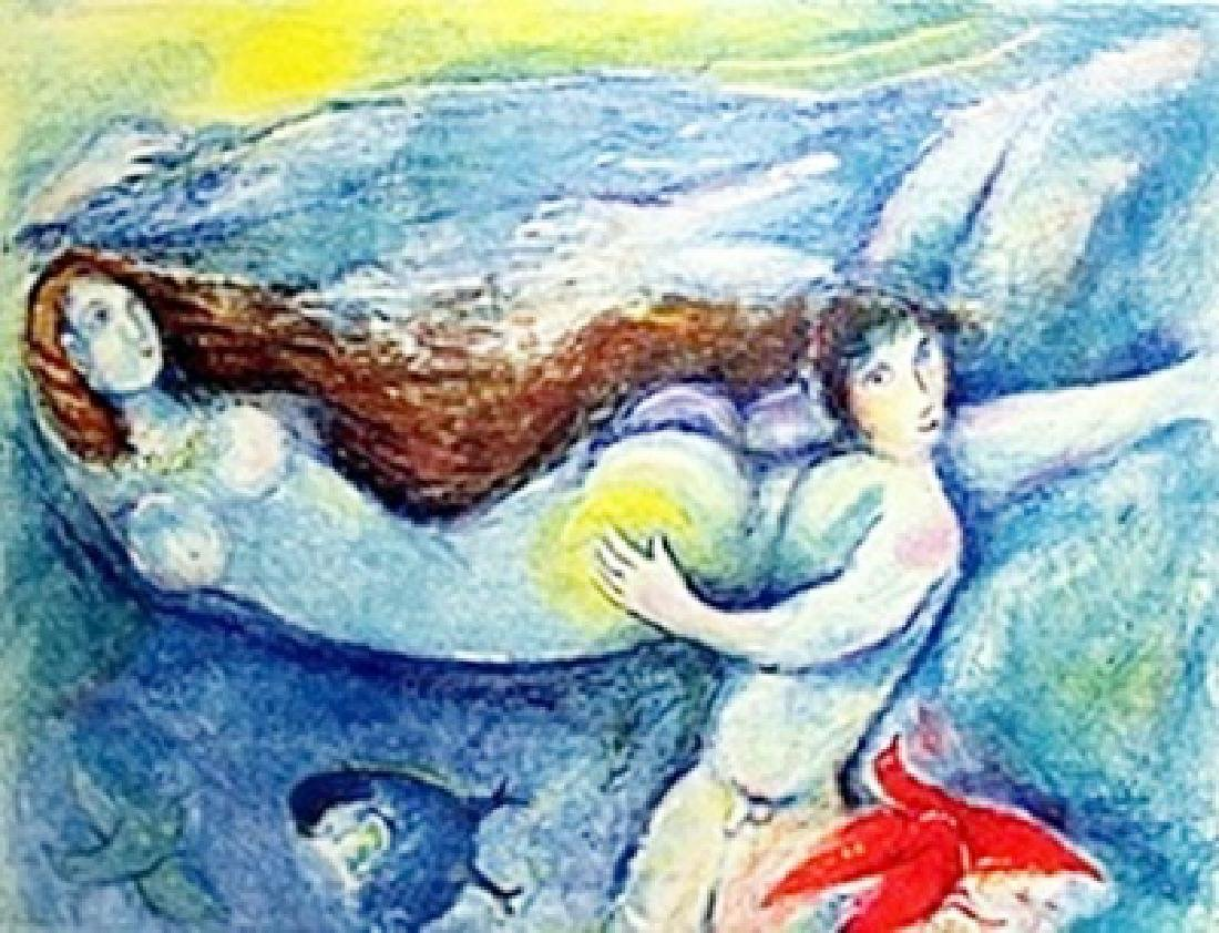 Marc Chagall - - Then he spent the night with her