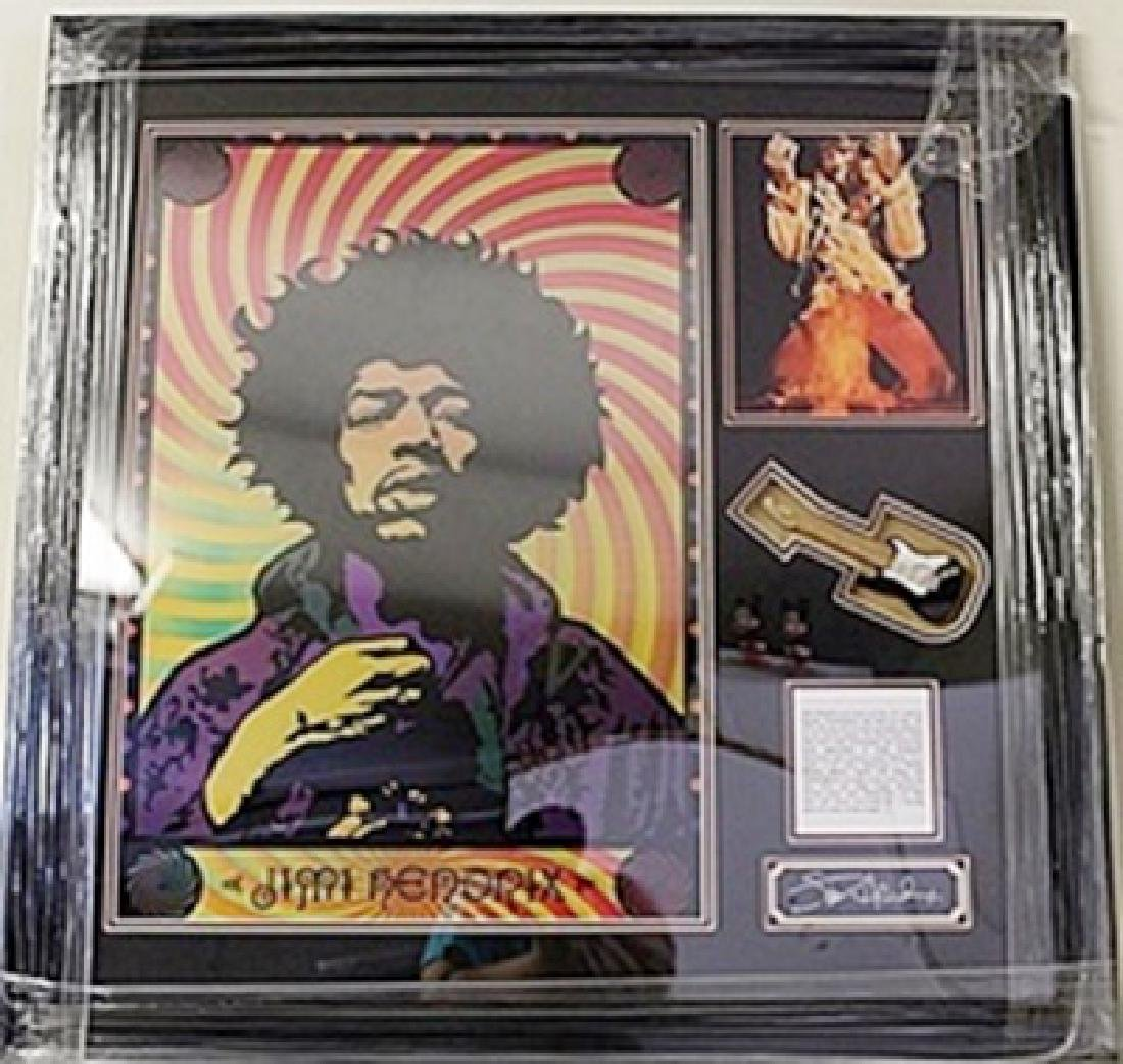 Jimi Hendrix Hologram with Mini Guitar HE5081