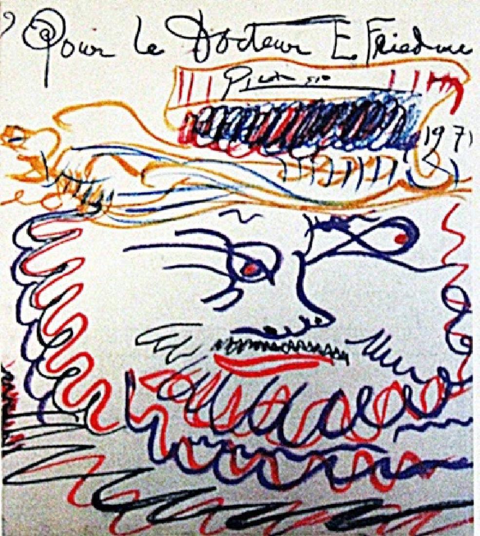 Pablo Picasso - Doctor E. Friedens