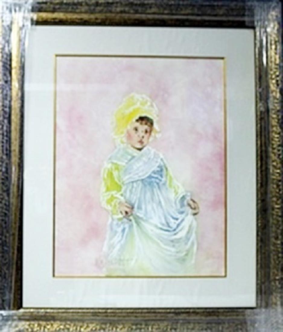 Original Watercolor on Paper   William Verdult