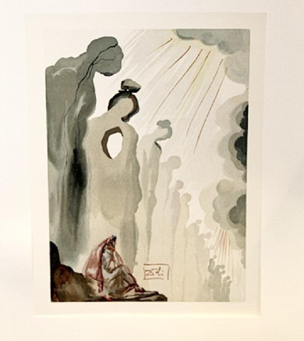 Dali - Purgatory Canto 13 - The Divine Comedy