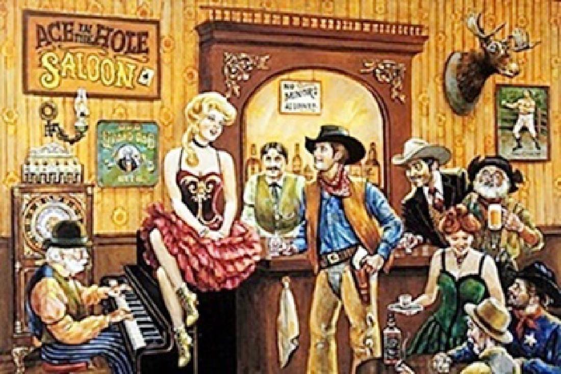 """""""Wild, Wild, West Saloon"""" by Lee Dubin"""