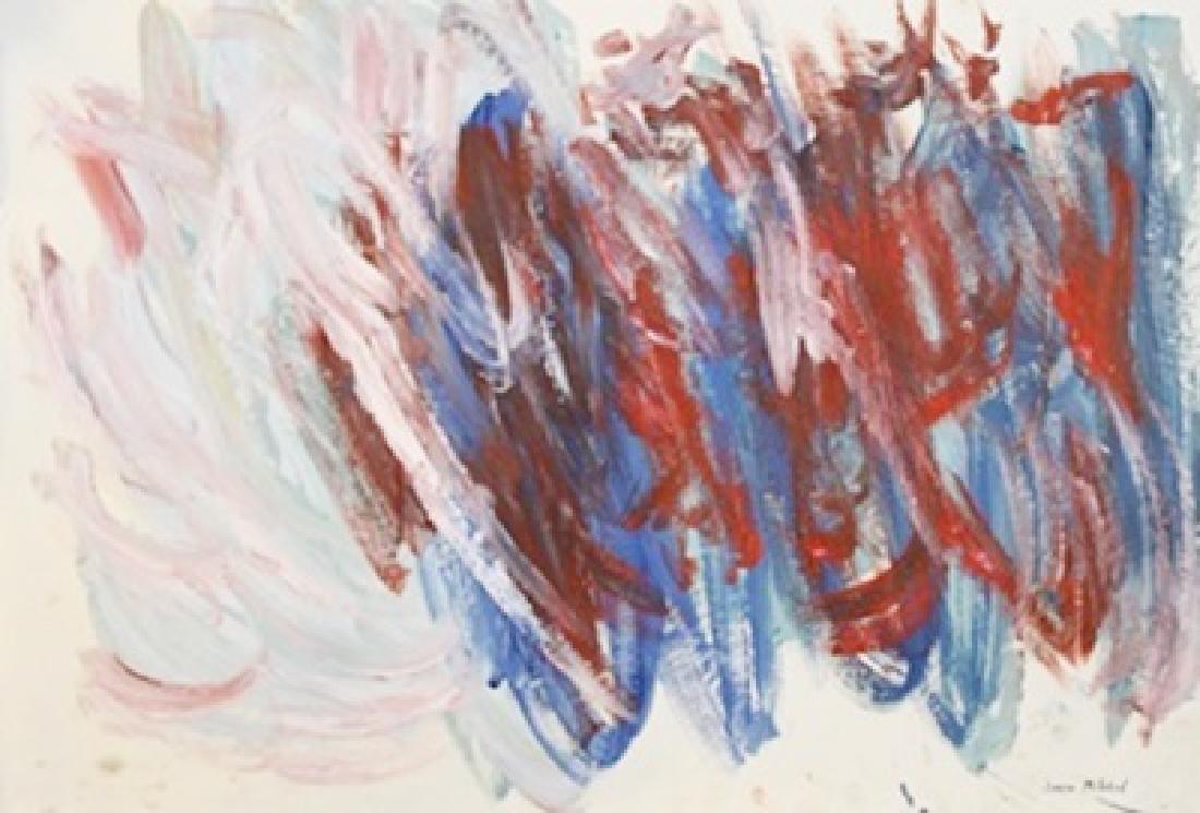 Lagoon - Joan Mitchell - Oil On Paper