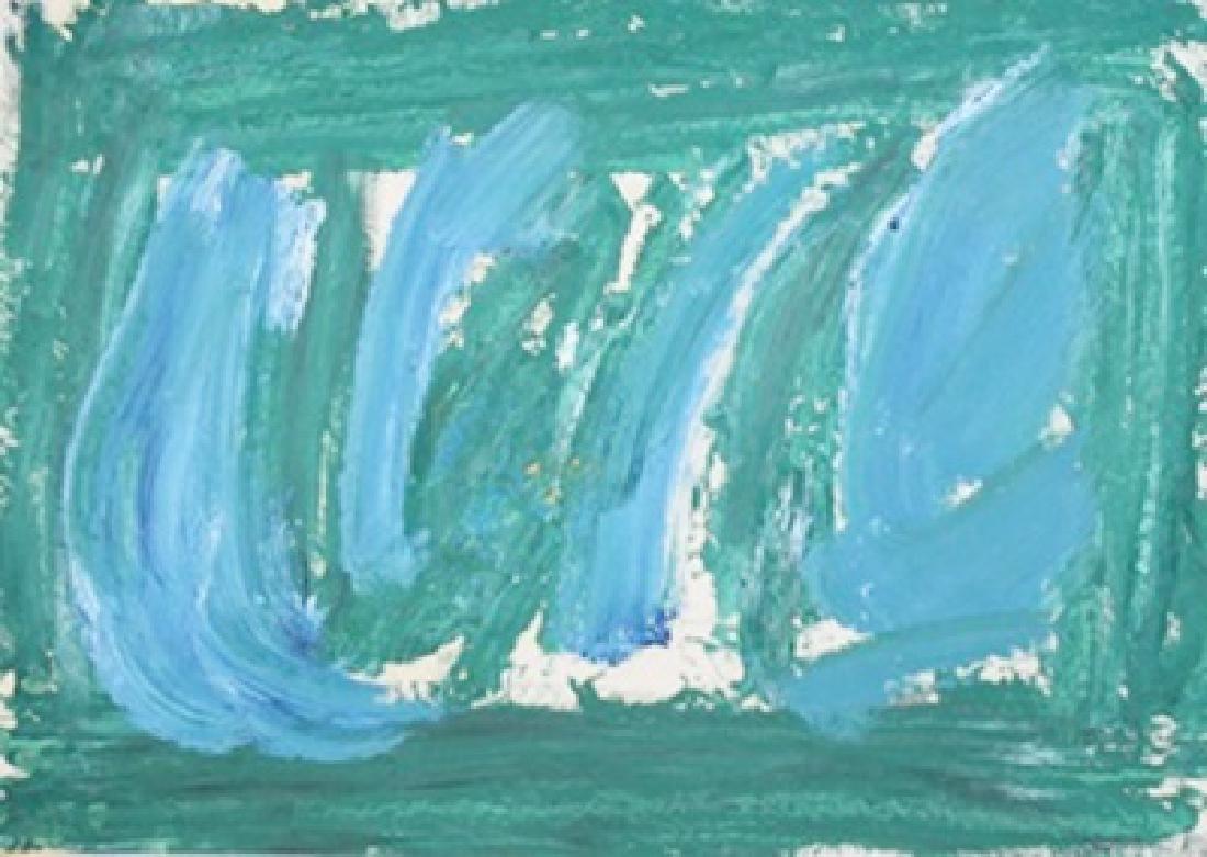 Improvisation - Howard Hodgkin - Oil On Paper
