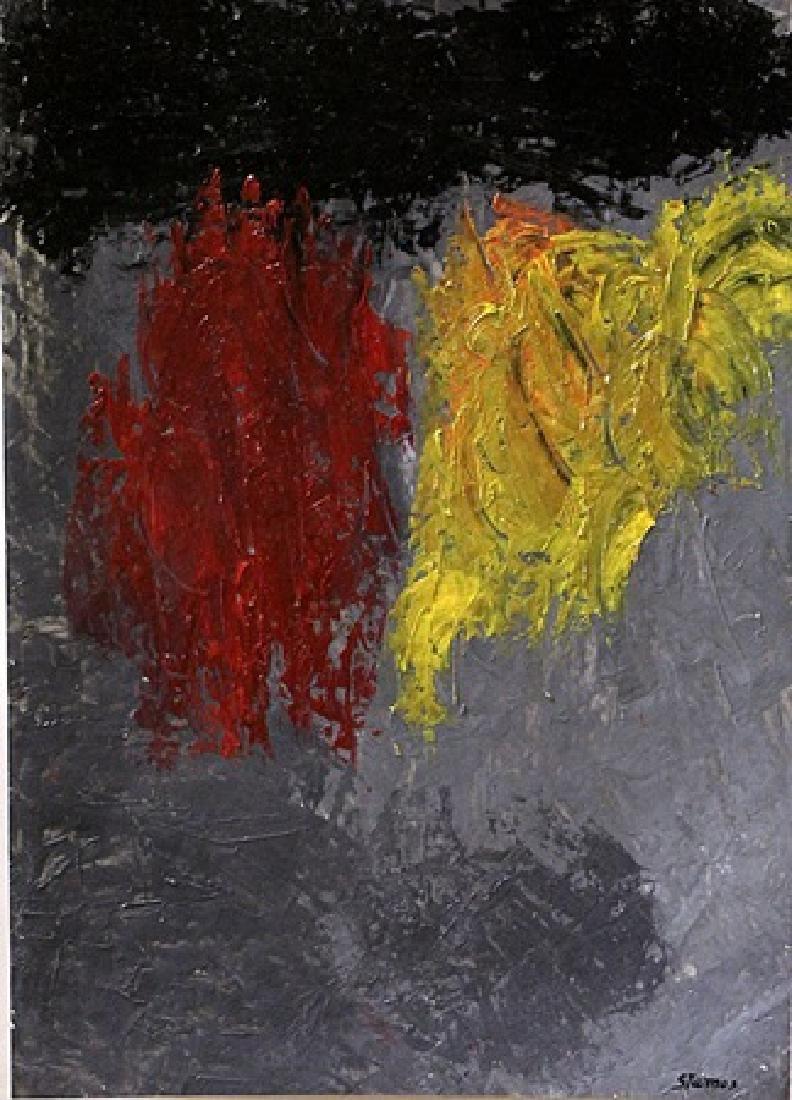 Venus - Theodoros Stamos - Oil On Paper