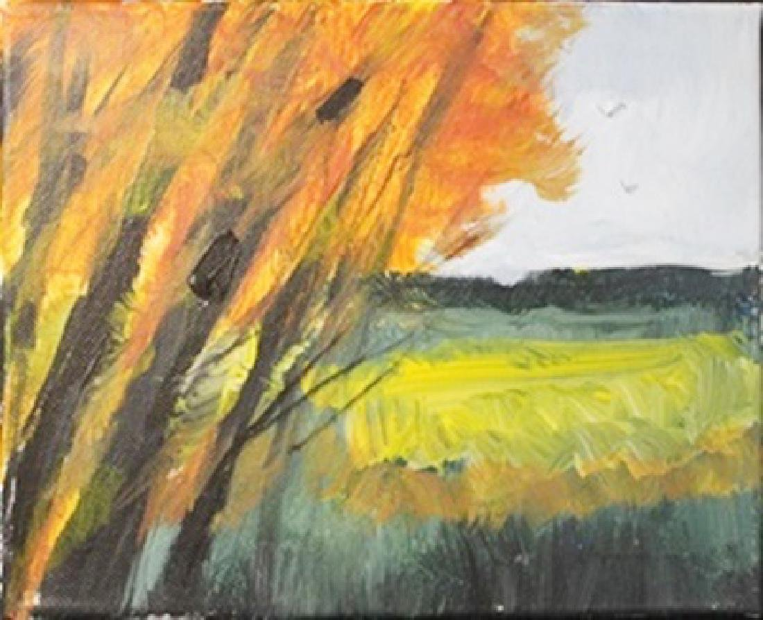 "Acrylic on Canvas ""Early Fall"" by Michael Schofield"