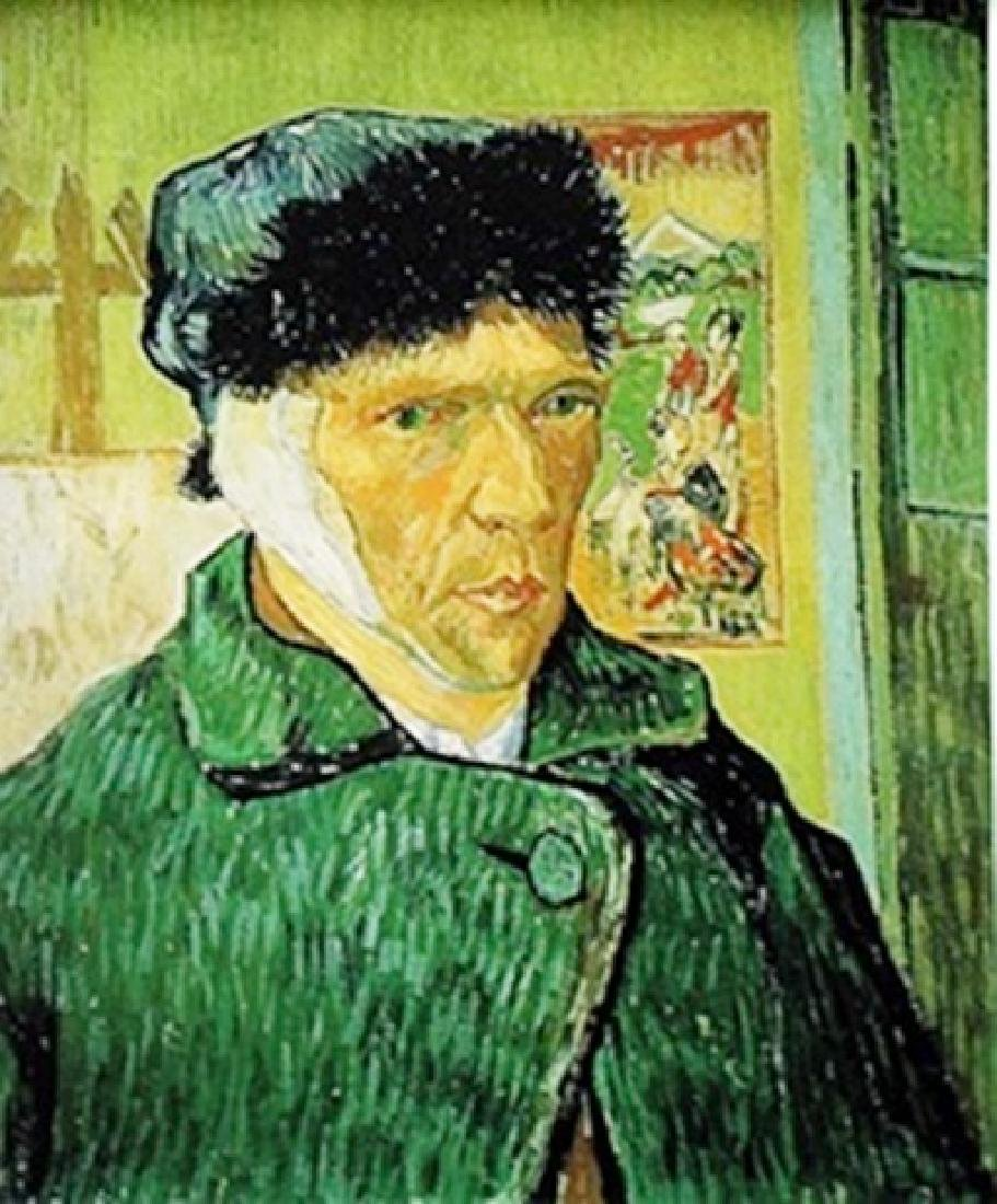 """Self-Portrait with Bandaged Ear"" by Vincent Van Gogh"