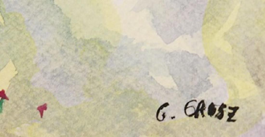 Two Women - George Grosz - Watercolor On Paper - 3