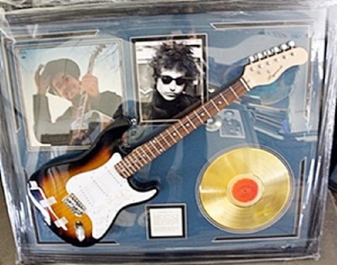Bob Dylan Signed Guitar & Memorabilia