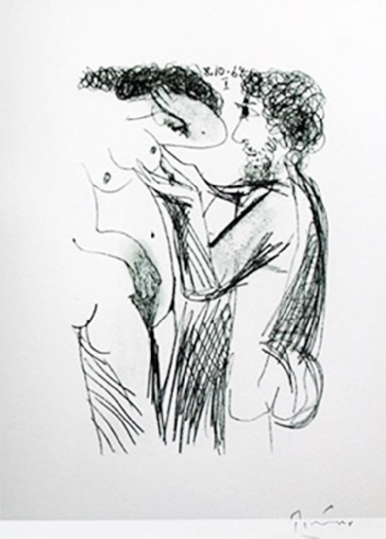 Signed - Lithograph  by Pablo Picasso