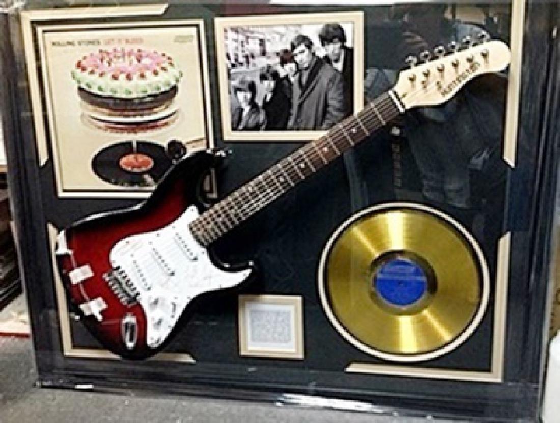 Priceless Rolling Stones Signed Guitar & Memorabilia