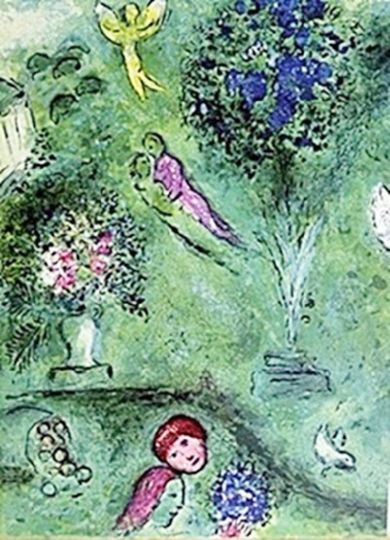 Marc Chagall - - Philetas and his Orchard Part 2
