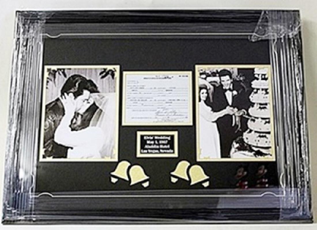 Elvis Presley Wedding Giclee HE5065