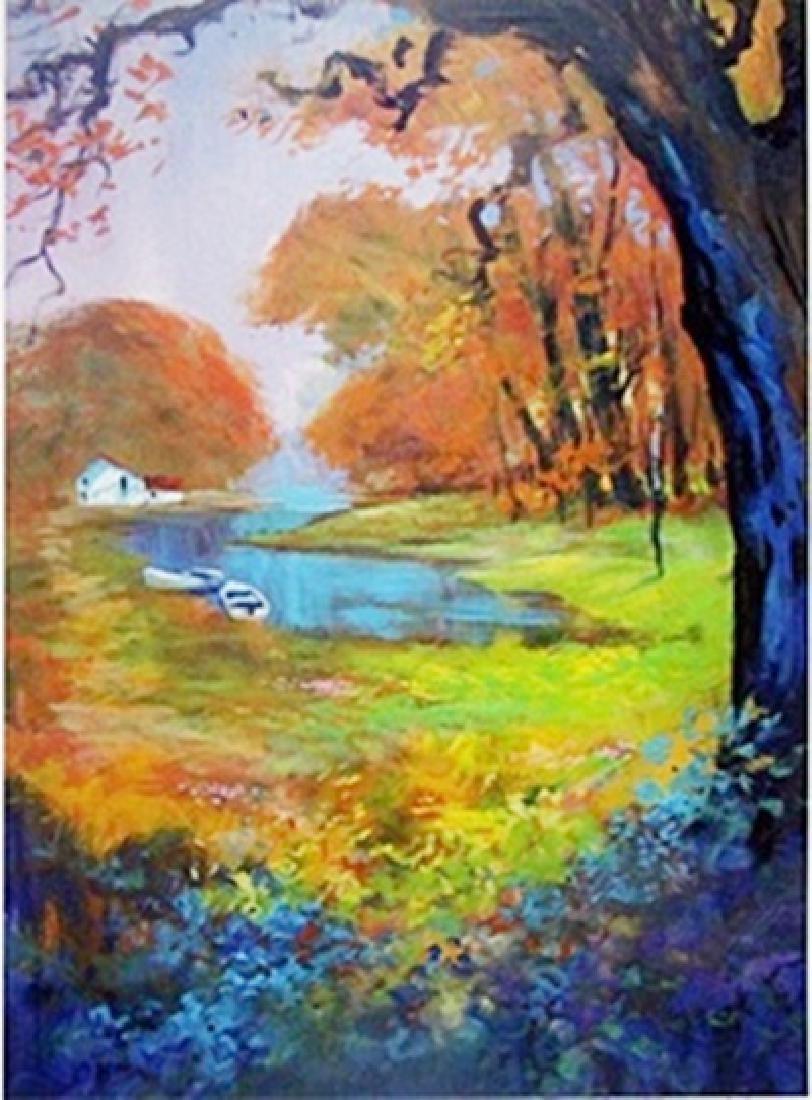 Lithograph - Autumn Acres - Michael Schofield