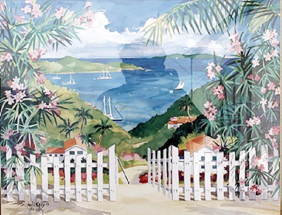 Gateway to Paradise - Julia Kelly - Lithograph