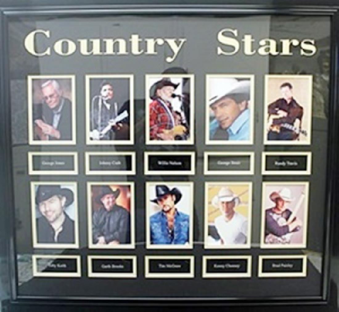 """Memorabilia """"Country Stars (Males)"""