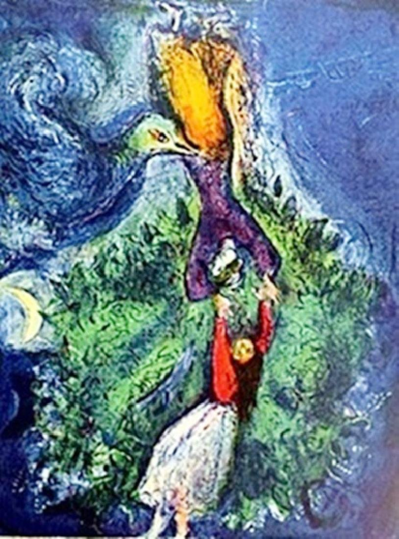 Marc Chagall - - So she came down from the tree