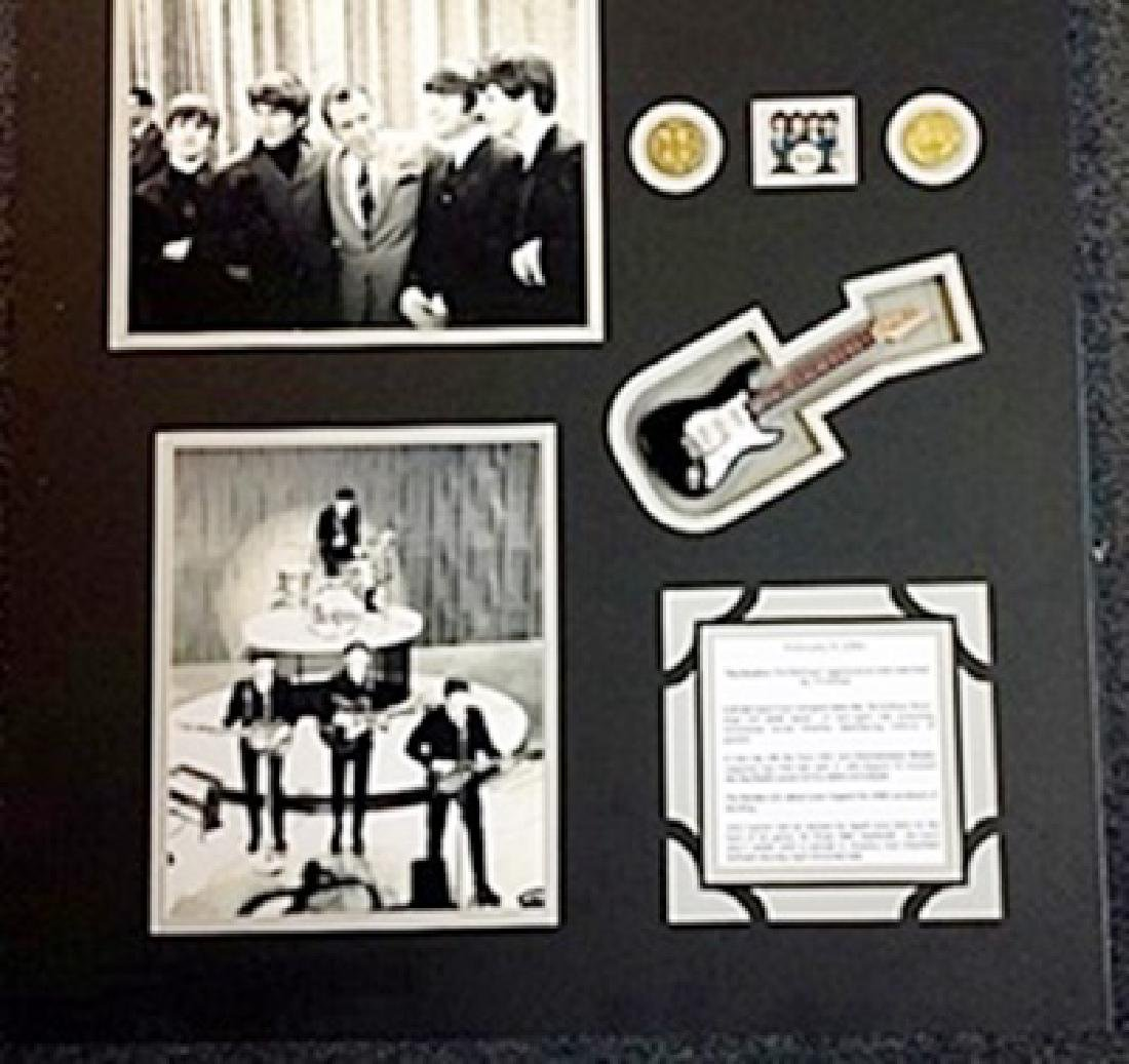 The Beatles 3d Picture with Guitar & Record The Doors