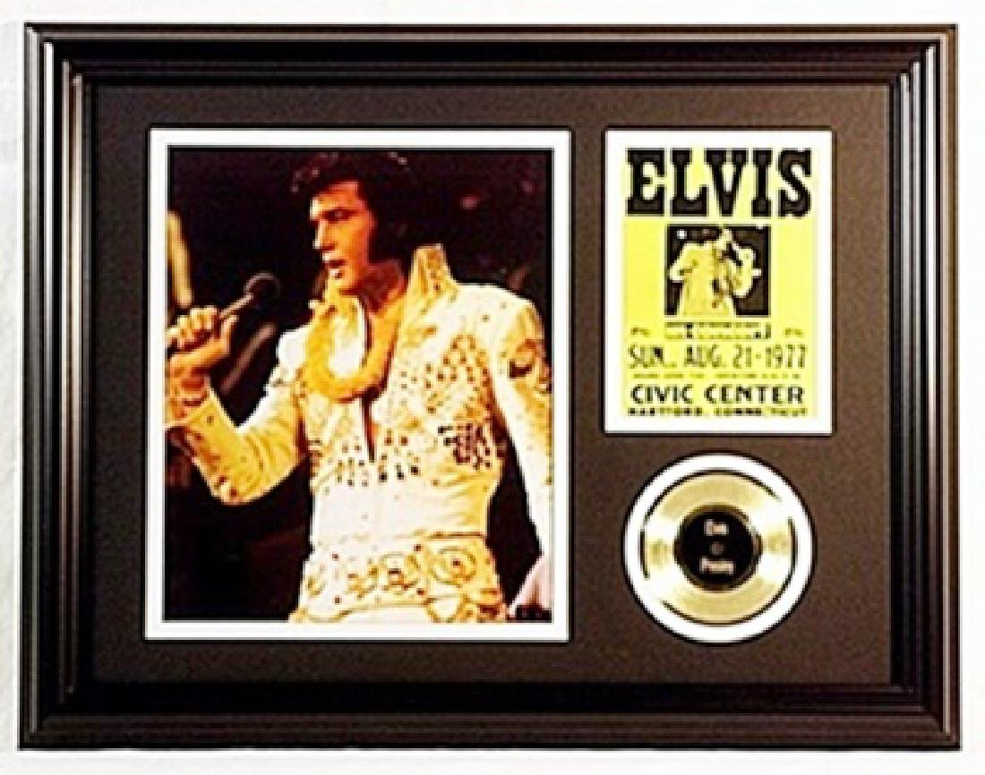 Elvis Presley Two Giclees & event ticket