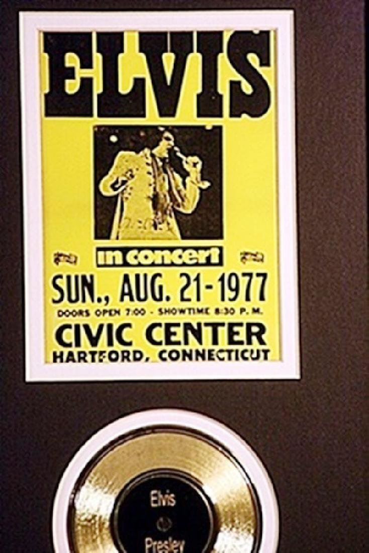 Elvis Presley Two Giclees & event ticket - 2