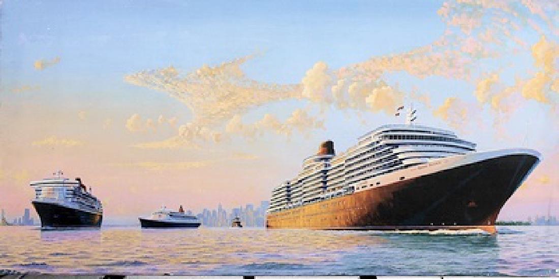 MS Queen Victoria Joins the Fleet - James A Flood -