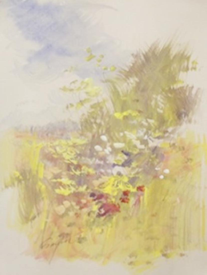 "Original Watercolor on Paper ""Spring Fling"" by Michael"