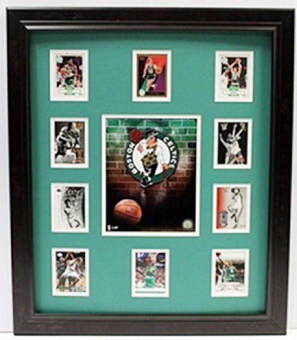 10 Cards with Licensed Photo of The Boston Celtics