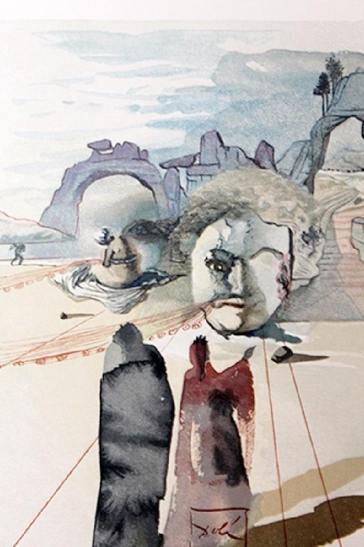 Dali - Purgatory Canto 20 - The Divine Comedy - 2