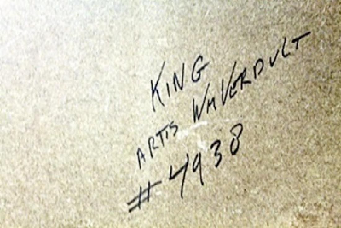 "Original Oil on Panel ""King""   William Verdult - 2"