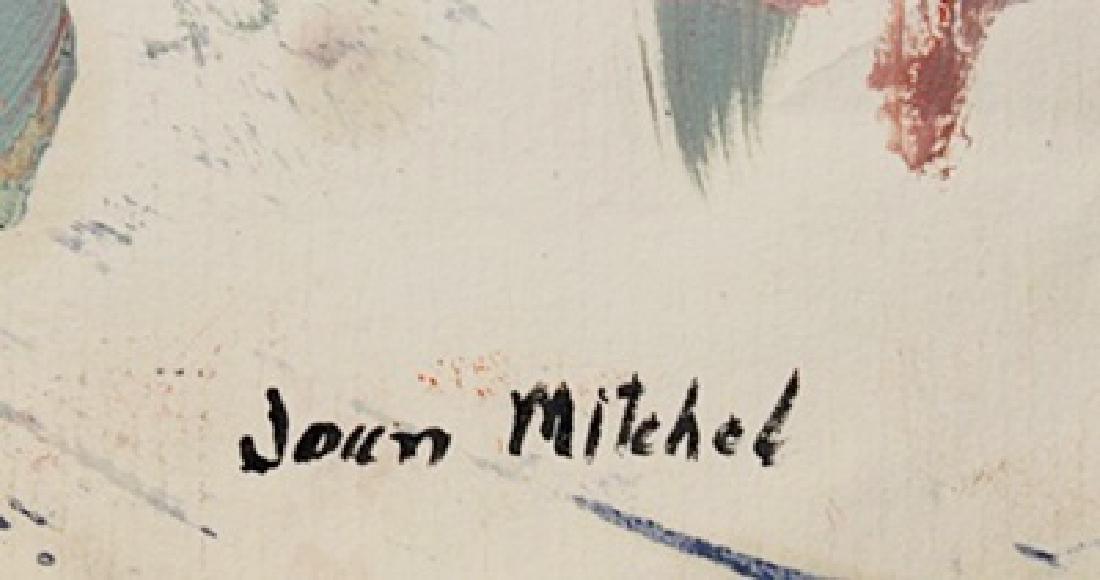 Lagoon - Joan Mitchell - Oil On Paper - 3