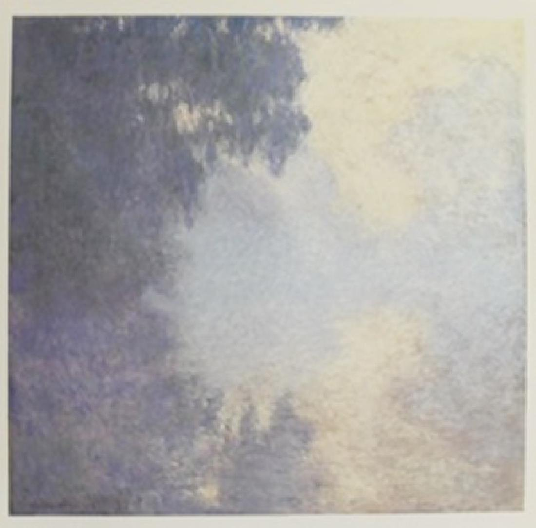"Lithograph ""Morning on the Seine, Near Giverny"" By"